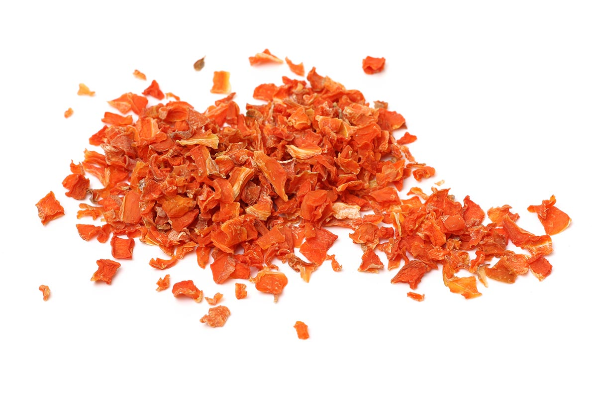 Carrot dried chip